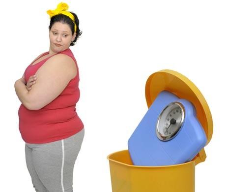 Dine tanker bestemmer hvor tyk du er