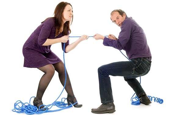 Nej vel er det ej nemt at blive skilt!