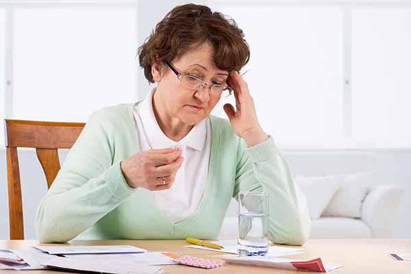 begyndende demens symptomer