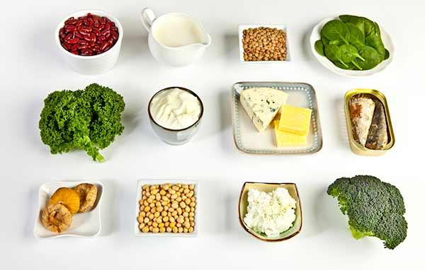 madvarer med kalk