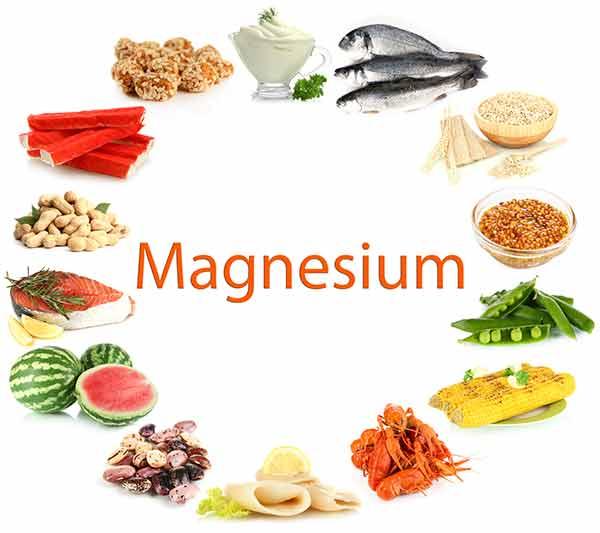 hvad indeholder magnesium