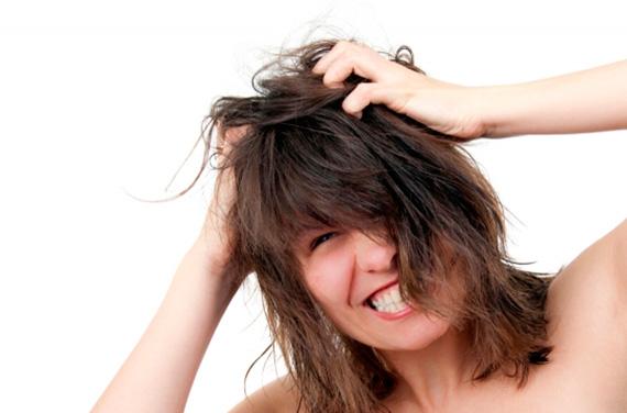 hårtab kvinder stress